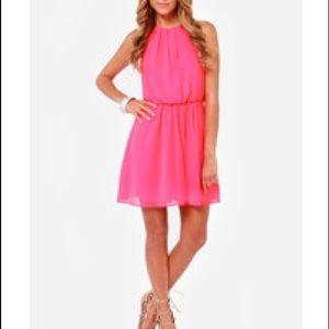 finn & clover Dresses - Summer coral dress